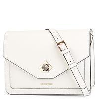 Белая сумка Cromia Mina из зернистой кожи, фото