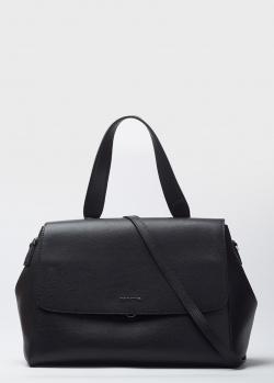 Черная сумка Cromia Akua со съемным ремнем, фото