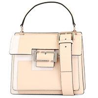 Бежевая сумка Cromia Blending с пряжкой, фото