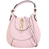 Розовая сумка Cromia Frida из гладкой кожи, фото