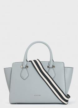 Серая сумка Cromia Perla из гладкой кожи, фото