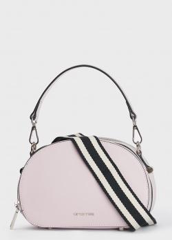 Сиреневая сумка Cromia Perla овальной формы, фото