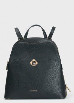 Рюкзак из зернистой кожи Cromia Mina черного цвета, фото