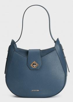 Сумка-хобо Cromia Mina синего цвета, фото