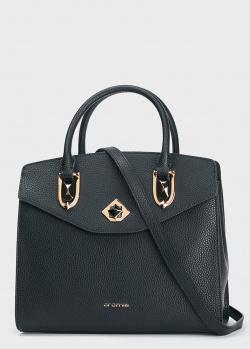 Деловая сумка Cromia Gemma из мелкозернистой кожи, фото