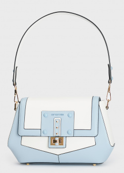 Двухцветная сумка Cromia Delfina из кожи, фото