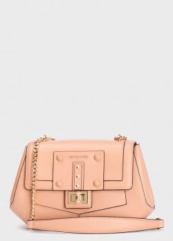 Бежевая сумка Cromia Delfina на ручке-цепочке, фото