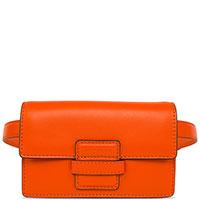Женская поясная сумка Etro оранжевого цвета, фото