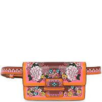 Поясная сумка Etro с цветочным принтом, фото