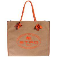Сумка-шоппер Etro в коричневом цвете, фото