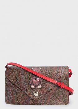Маленькая сумка Etro с изображением медведя, фото