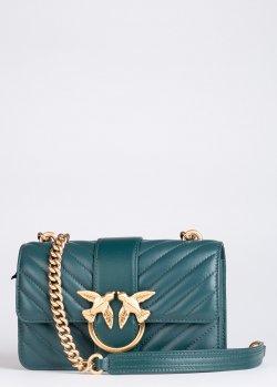 Стеганая сумка Pinko Mini Love Bag Mix на 2 отделения, фото