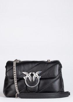 Маленькая стеганая сумка Pinko Mini Love Bag Puff Maxi Quilt, фото