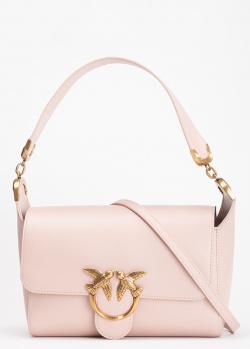 Сумка-багет Pinko Shoulder Love Bag Simply из гладкой кожи, фото