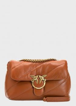 Сумка кросс-боди Pinko Love Bag Puff Maxi Quilt с диагональной стежкой, фото