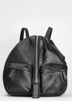 Черный рюкзак Vic Matie с накладными карманами, фото