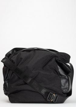 Черная сумка Vic Matie на широком ремне, фото