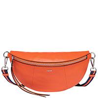 Оранжевая поясная сумка Laurel со съемным ремнем, фото
