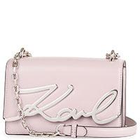 Сумка Karl Lagerfeld K/Signature светло-розового цвета, фото