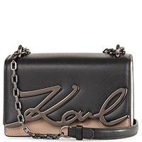 Маленькая сумка Karl Lagerfeld K/Signature на цепочке, фото
