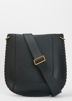 Черная сумка Isabel Marant из зернистой кожи, фото