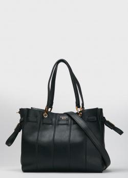 Сумка-шоппер Tosca Blu Lipari черного цвета, фото
