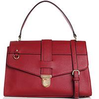 Сумка-портфель Twin-Set красного цвета, фото