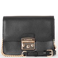 Черная сумка Lа Martina Nevada через плечо, фото