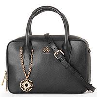 Женская деловая сумка Lа Martina Nevada в черном цвете, фото