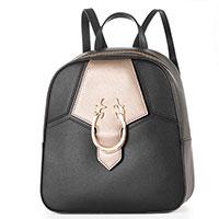 Черный рюкзак Lа Martina Sancha с золотистой фурнитурой, фото