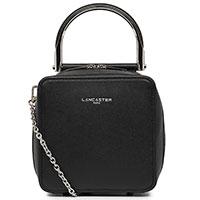Черная сумка Lancaster Caviar Bonnie на цепочке, фото