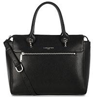 Черная сумка Lancaster Sandie с карманом на молнии, фото