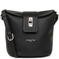 Черная сумка Lancaster City Mae с узким клапаном, фото