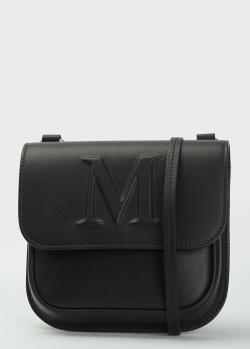 Черная сумка кросс-боди Max Mara из кожи, фото