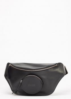 Поясная сумка MSGM с логотипом на кармане, фото