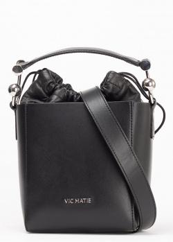 Сумка-ведро Vic Matie черного цвета, фото