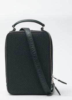 Прямоугольная сумка Sonia Rykiel из зернистой кожи, фото