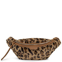 Поясная сумка Lancaster Actual Fausse Fourrure с леопардовым принтом, фото