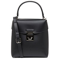 Черная сумка Lancaster Claudia из гладкой кожи, фото
