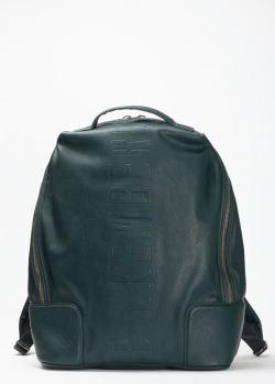 Темно-зеленый рюкзак Bikkembergs на одно отделение, фото