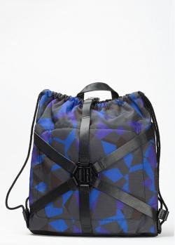 Рюкзак-мешок Bikkembergs с абстрактным принтом, фото