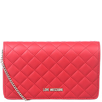 Красная сумка-кроссбоди Love Moschino, фото
