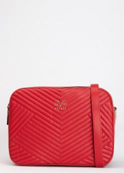 Красная сумка 19V69 Italia прямоугольной формы, фото