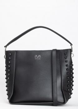 Черная сумка 19V69 Italia на тонком ремне, фото