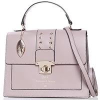 Сумка деловая Francesca E.Versace бежевого цвета, фото