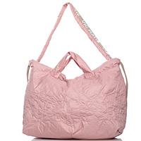 Большая сумка-мешок Vic Matie светло-розового цвета, фото
