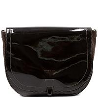 Коричневая сумка Ripani из лаковой кожи, фото
