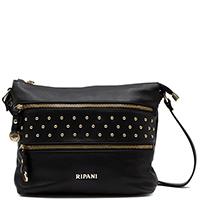 Черная сумка Ripani Radice с декоративными заклепками, фото