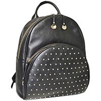 Черный рюкзак Ripani Radice с декором-заклепками, фото