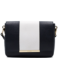Черная сумка Ripani с белой вставкой, фото